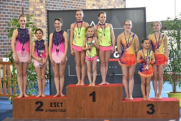 gym acro podium trios 8-15 ans